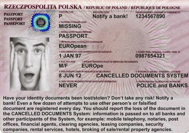 Takie paszport policja rozdaje cudzoziemcom ksp.waw.pl