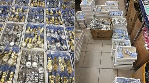 W centrum handlowym sprzedawali podróbki zegarków