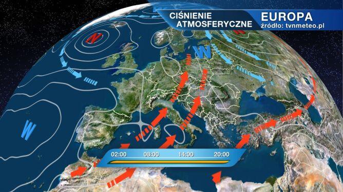Nad Polską przejdzie burzowy front atmosferyczny