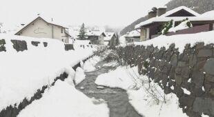 Zima w Austrii rozgościła się na dobre